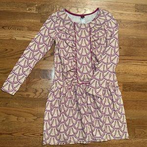 Tea Collection girls fan print dress NEVER WORN